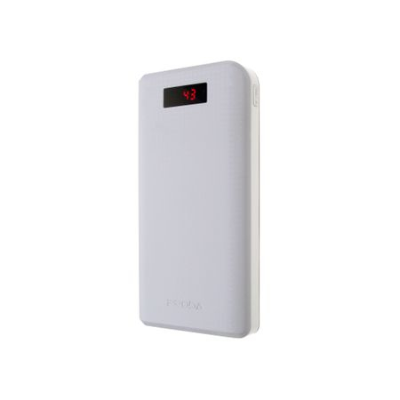 Baterie externa smart, GMO, Hardbox, 30000mAh, alba [0]