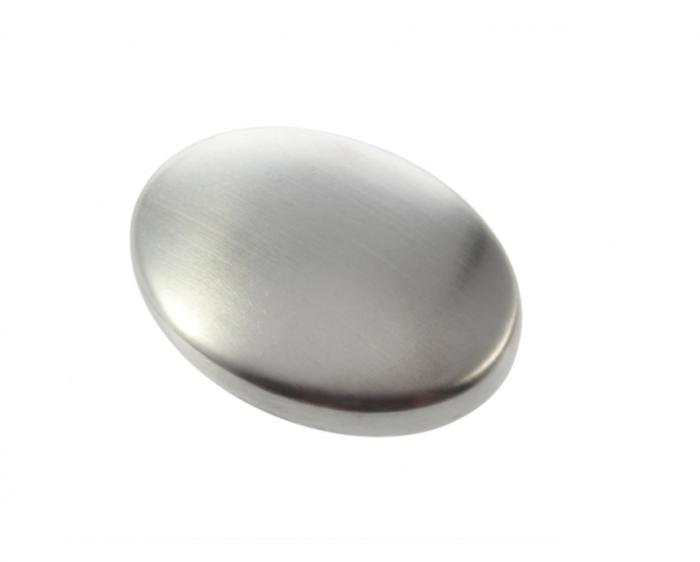 Sapun din metal pentru indepartarea mirosurilor neplacute, GMO, Metal Soap, argintiu [0]