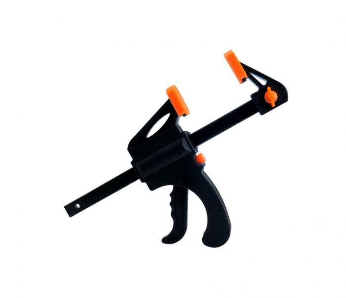 Dispozitiv de prindere ajustabil pentru tamplarie, GMO, Clamp, portocaliu [1]