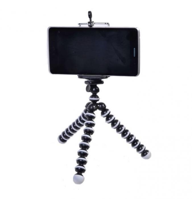 Suport creativ pentru telefonul mobil & mini trepied flexibil pentru aparatul foto sau telefon, GMO, Focus [5]