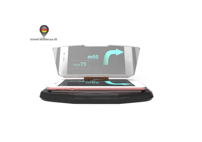 Suport auto pentru telefon de tip Head Up Display, GMO 3