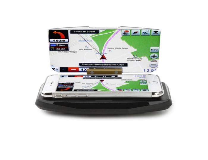 Suport auto pentru telefon de tip Head Up Display, GMO 4