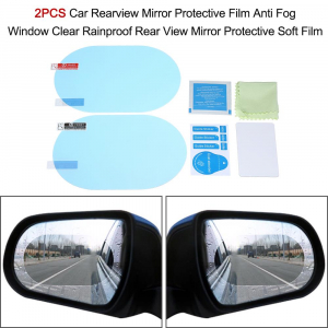 Set folie protectoare auto de oglinda, impotriva apei, GMO, Film Protect2