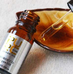 Ulei pur de argan pentru tratamentul parului, GMO, Pure, 10ml [5]