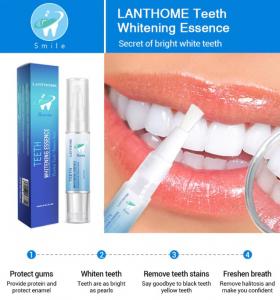 Creion pentru albirea dintilor GMO, White Teeth [4]