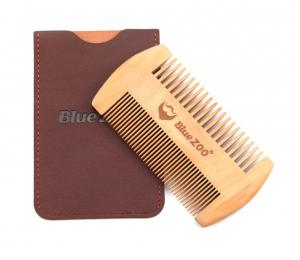 Pieptene de barba si mustata, GMO, Duo Blue-Zoo, anti-static0