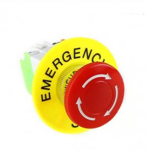Intrerupator pentru oprirea de urgenta, GMO, LBCY090, cu buton de apasare2