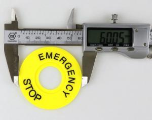 Intrerupator pentru oprirea de urgenta, GMO, LBCY090, cu buton de apasare5