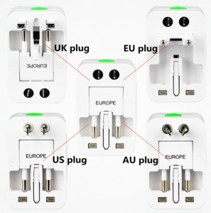 Adaptor de priza international, GMO, All in one10