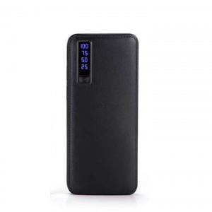 Baterie externa cu incarcare rapida si LED, GMO, Power Box, 30.000 mAh, neagra0
