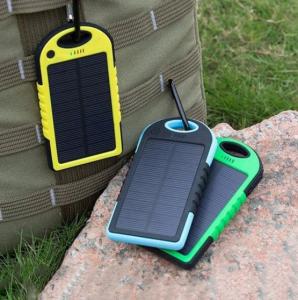 Baterie externa cu incarcare solara si LED, GMO, Solar Charger, 8000 mAh2