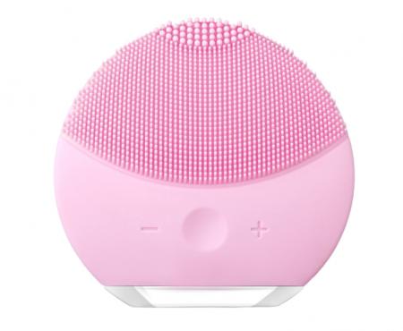 Dispozitiv de curatare faciala, FORCLEAN, Pearl Pink, 8000 oscilatii/minut, 8 trepte de viteza, impermeabil, roz0