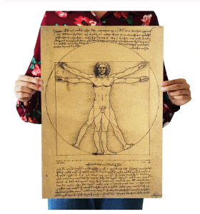 Poster roluit din hartie, GMO, Leonardo Da Vinci0