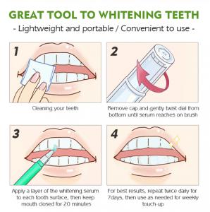 Creion pentru albirea dintilor, GMO, Green1