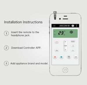 Dispozitiv smart control, GMO, IR pentru IPhone1