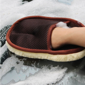 Laveta tip manusa din lana si casmir pentru polish, GMO, One Glove [2]
