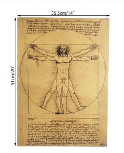 Poster roluit din hartie, GMO, Leonardo Da Vinci [1]