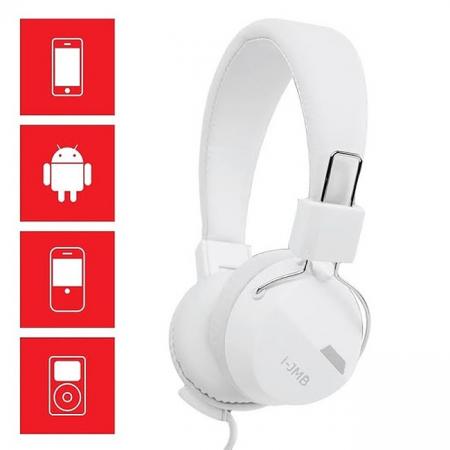 Casti audio On-Ear, GMO, albe [2]