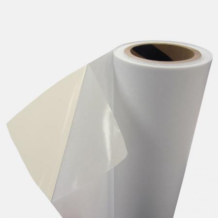 Folie de laminat in rola 330 mm x 200 m x 30 microni, aspect de finisare mat catifelat, 25 mm interior rola0