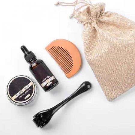 Kit complet pentru accelerare crestere barba si mustata, GMO, Rubeus Hagrid [1]