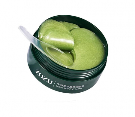 Masca hydrogel pentru ochi, ADM, cu extract de avocado, anticearcane, 60 bucati [0]