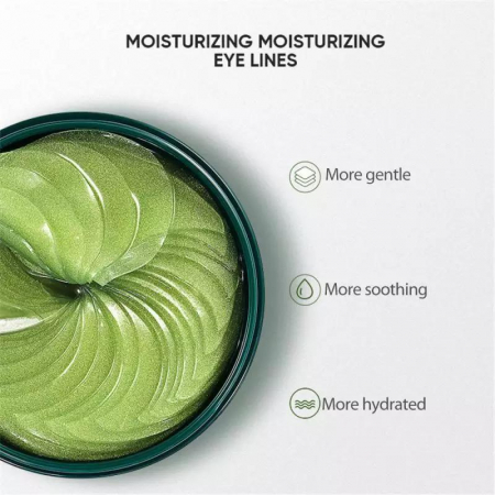 Masca hydrogel pentru ochi, ADM, cu extract de avocado, anticearcane, 60 bucati [2]