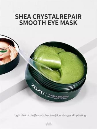 Masca hydrogel pentru ochi, ADM, cu extract de avocado, anticearcane, 60 bucati [1]