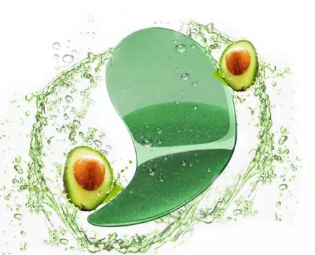 Masca hydrogel pentru ochi, ADM, cu extract de avocado, anticearcane, 60 bucati [4]