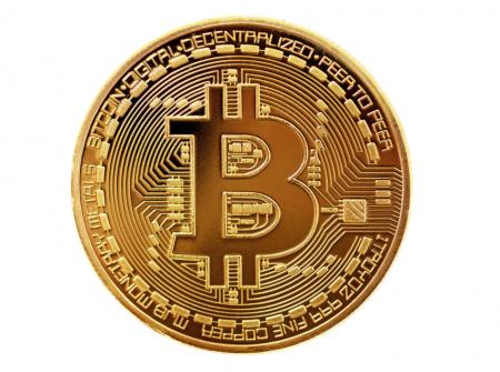 Moneda crypto pentru colectionari, GMO, Bitcoin [1]