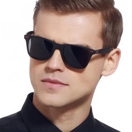 Ochelari de soare cu lentile polarizate, ADM, Darklenses, negri [2]