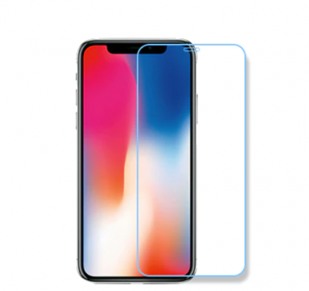 Folie de protectie tempered glass IPhone X, 5D, cu tratament AntiShock, oleofoba si hidrofoba, 0.3 mm grosime [0]