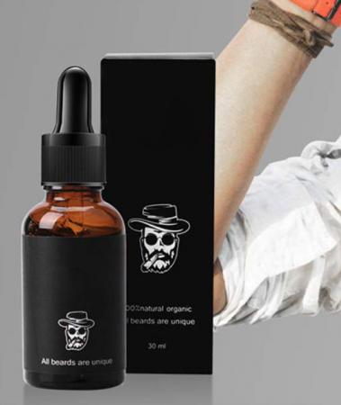 Kit complet pentru accelerare crestere barba si mustata, GMO, Rubeus Hagrid [2]