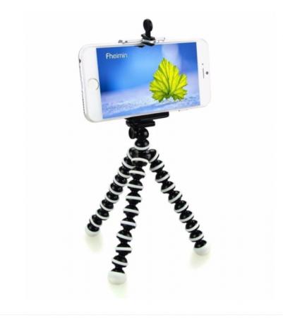 Suport creativ pentru telefonul mobil & mini trepied flexibil pentru aparatul foto sau telefon, GMO, Focus [0]