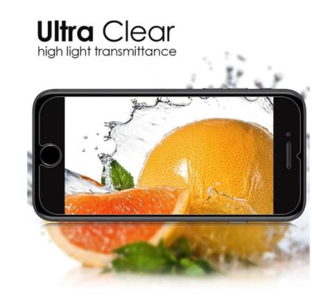 Folie de protectie tempered glass IPhone X, 5D, cu tratament AntiShock, oleofoba si hidrofoba, 0.3 mm grosime [2]