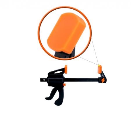 Dispozitiv de prindere ajustabil pentru tamplarie, GMO, Clamp, portocaliu [3]
