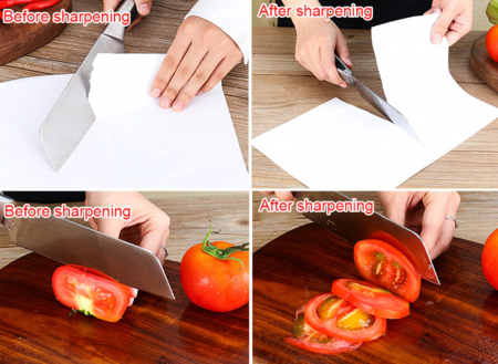Dispozitiv de ascutit cutite, GMO, Perfect Knife, cu doua fante [5]