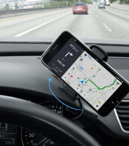 Suport pentru telefon, GMO, ATLB II, ușor și sigur pentru conducere și navigare4