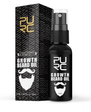 Ulei pentru cresterea barbii, GMO, Pure Growth [1]