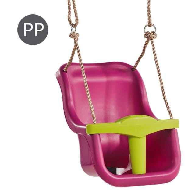 Leagan Baby Seat LUXE Culoare: purple (RAL4006)/lime green, franghie: PP 10 [0]