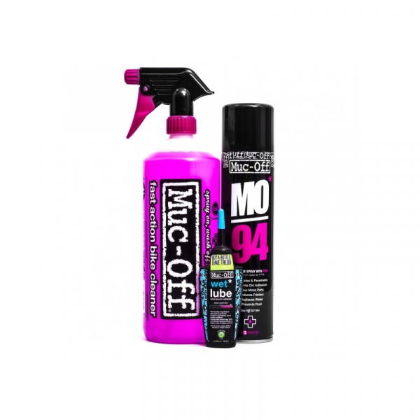 Muc-Off Wash Protect and Lube Kit 0