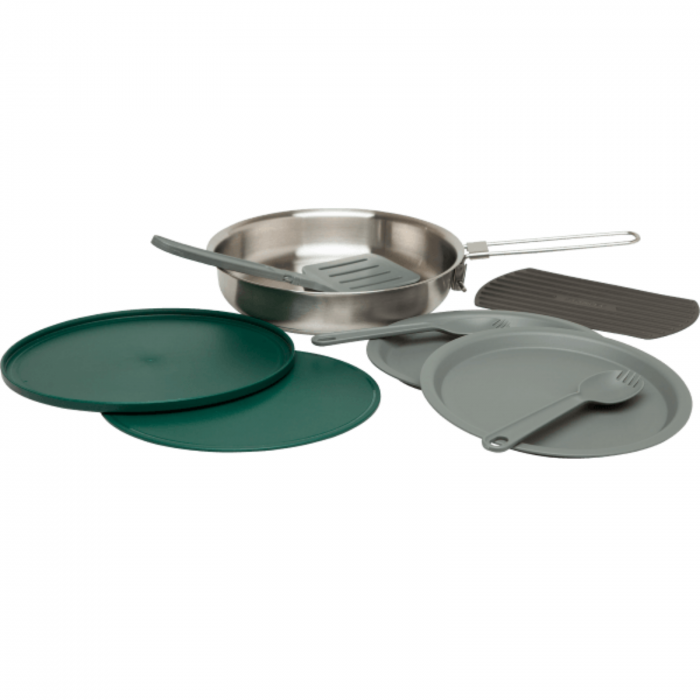 The All-In-One Fry Pan Set | Stainless Steel | GoPack.ro 0