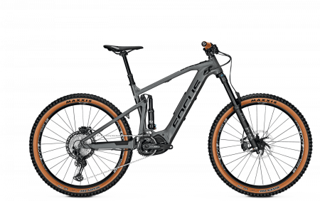 Bicicleta electrica Focus Sam 2 6.8 27.5 Slate Grey 20200