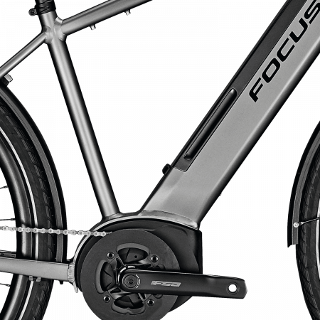 Bicicleta electrica Focus Planet 2 5.9 DI 28 Toronto Grey 20203