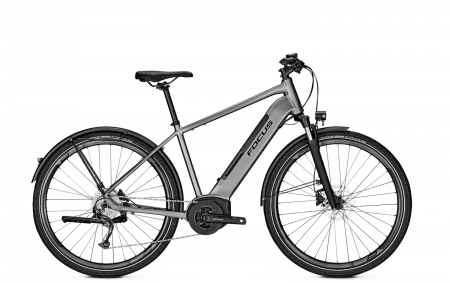 Bicicleta electrica Focus Planet 2 5.9 DI 28 Toronto Grey 20200