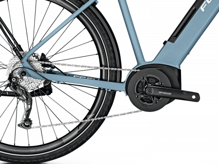 Bicicleta electrica Focus Planet 2 5.9 DI 28 Heritage Blue 20201