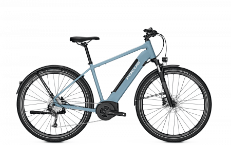 Bicicleta electrica Focus Planet 2 5.9 DI 28 Heritage Blue 20200