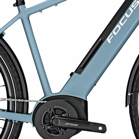 Bicicleta electrica Focus Planet 2 5.9 DI 28 Heritage Blue 20203