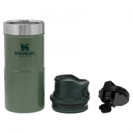 Cană Travel THE TRIGGER- ACTION 0.35L   12 OZ Hammertone Green1
