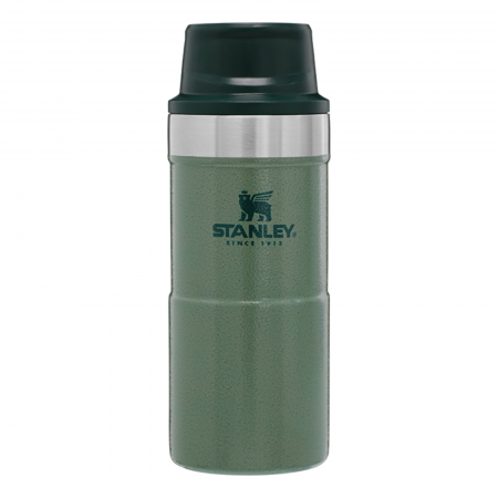 Cană Travel THE TRIGGER- ACTION 0.35L   12 OZ Hammertone Green0