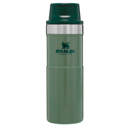 Cană Travel THE TRIGGER- ACTION 0.47L | 16 OZ Hammertone Green0